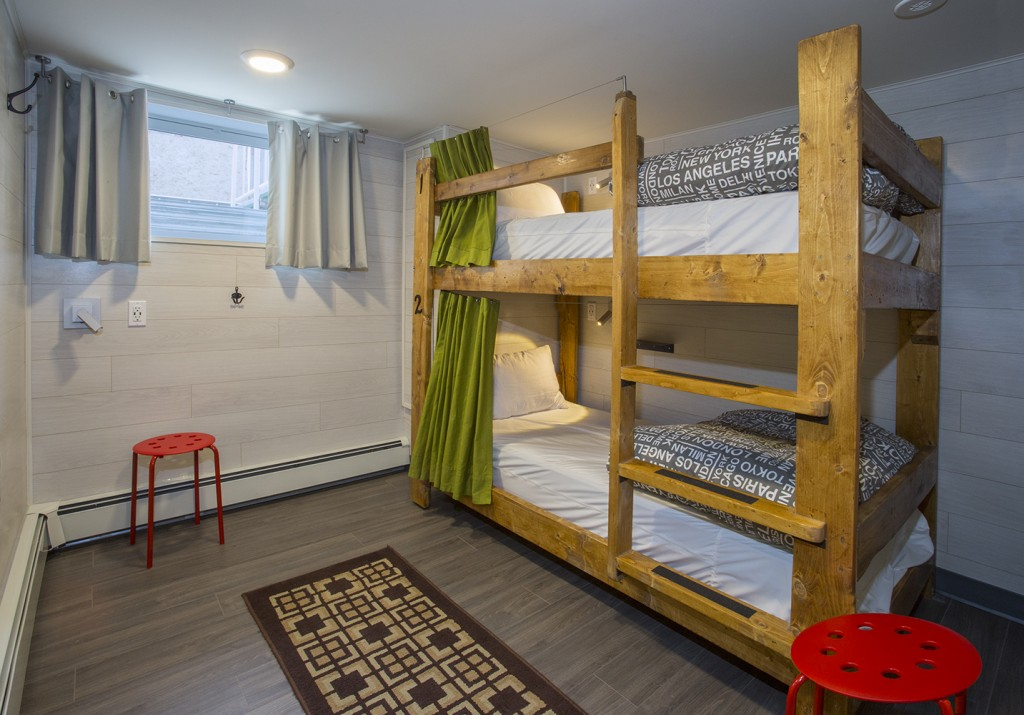 Two Bed Dorm - Single Bunk Bed